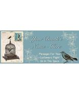 Vintage Birds, Birdcage FREE Bonanza Banner and... - $0.00