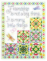 Little Things 2 friendship cross stitch chart I... - $5.40