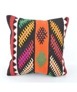 kilim,throw pillow kilim,bohemian decor,throw p... - $14.00