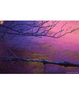 Evening Fantasy  Flat Canvas Print Only  24 x 3... - $495.00