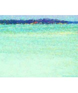 Seaside Gallery Wrap Canvas 24 x 36 Aqua Turquo... - $695.00