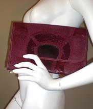 Vintage Carlos Falchi Snake Skin Clutch/Purse -  - Bonanzle
