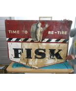 Vintage Sign Fisk Tire