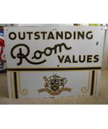 Vintage Sign Mayfair Hotels Lennox St Louis   P... - $2,068.60