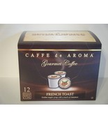 Caffe De Aroma French Toast 12 Single Serve K-C... - $8.99