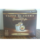 Premium Decaf.French Vanilla Coffee 12 Single S... - $8.99