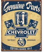 Chevy Parts - Pistons Chevrolet Service Garage ... - $16.80