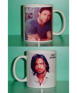 Hugh Jackman  2 Photo Designer Collectible Mug - $14.95