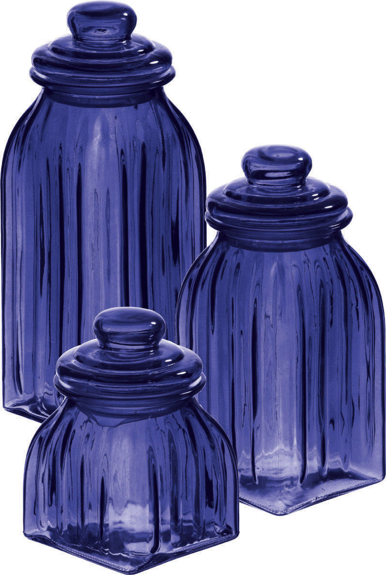 Purple Kitchen Canister Sets 28 Glass Canister Set For Kitchen Lis Piece Glass Canister