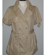 One Clothing Trench Coat Jacket Or Top Size 3X NWT - $28.00