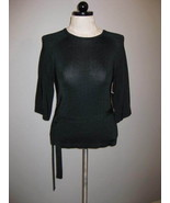 Jones New York Classy Knit Top With Tie At Wais... - $26.00