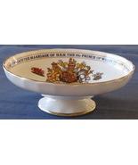 Footed Dish Aynsley Bone China Prince Charles D... - $34.93