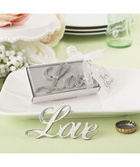 1 Love Themed Metal Bottle Opener Wedding Favor... - $5.52
