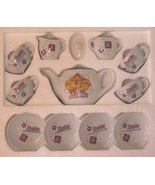 Barbie 12 Piece China Tea Set [Toy] - $45.00