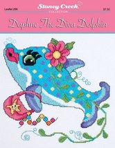 Daphne the Diva Dolphin L298 cross stitch chart... - $6.75