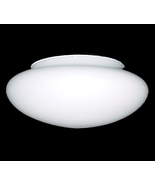 White Glass Pan Light Shade 7 1/2 X 4 3/4 X 11 ... - $16.95