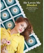 Z041 Crochet PATTERN ONLY He Loves Me Daisy Bla... - $7.45