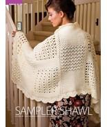 Z145 Crochet PATTERN ONLY Beautiful Sampler Sha... - $7.45