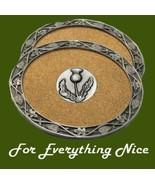 Thistle Floral Emblem Themed Cork Wine Stylish ... - $30.00