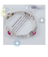 Antiqued Daughter's Blessing Jeweled Engraved B... - $14.00
