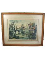 Roubilard Autumn Sun Vintage Print French Europ... - $20.00