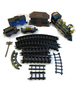 Toy Train Set Lot Rocky Mountain Station Southe... - $20.00