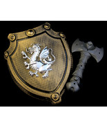 Dragon Shield & Battle Axe Plastic Toy Cosplay ... - $20.00