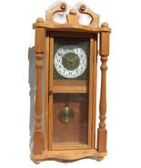 Pendulum Hanging Wall Clock Wood Wooden 15