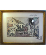 Revolutionary War? Framed Print Battle Soldiers... - $20.00