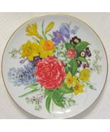 Hutschenreuther Floral Plate Frublingsmorgen Ur... - $54.44