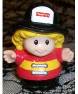 Fisher Price Little People Sarah the Firefighte... - $3.99