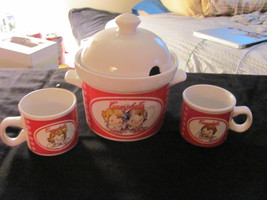 Campbells Soup Tureen and Two Mugs. - $39.89