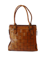 Authentic Patricia Nash Woven Leather Tote Shop... - $65.00