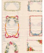 Fabric Quilting Labels For Names Quilts Flower ... - $7.00