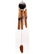 Bamboo/Coconut Windchime-Medium Wind Chime - $15.00