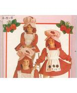 Strawberry Shortcake Costume Pattern 4-5-6 Butterick 6139 - $29.99