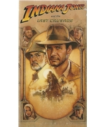 Indiana Jones and the Last Crusade VHS Harrison... - $2.99