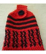 Dalek, Dr. Who Baddy, 100% Red/Black Cotton Yar... - $15.00