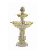 In/Outdoor ACORN 3-Tier Water Fountain with PUMP - $147.51
