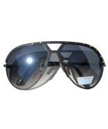 Black Studded Vintage Jay Z Hip Hop Aviator Sunglasses (Similar to Alpina M1)  - $19.99