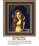 Beautiful Betty, Fine Art Counted Cross Stitch ... - $39.00