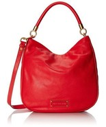 Marc by MARC JACOBS  Too Hot To Handle Red Hobo... - $286.08
