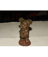 Vintage Mickey Mouse Figurine Brass Copyrighted... - $30.00