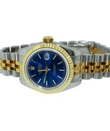 Rolex Blue dial woman watch two tone date just ... - $2,837.82