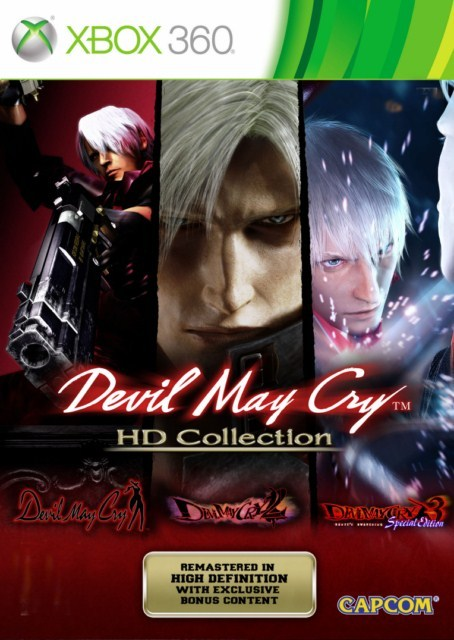 Devil May Cry HD Collection, xbox 360 game