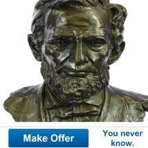 Large Limited Edition Abraham Lincoln Usa Presi... - $999.00