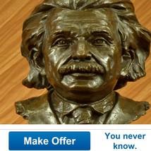 Limited Edition Intellectual Bronze Albert Eins... - $1,199.00