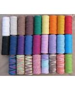 3 Spools x 205 ft 1mm Hemp Cord ~Colors Twine~C... - $17.81