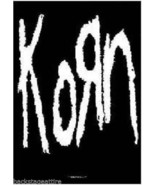 Korn B/W Logo Jonathan Davis 29