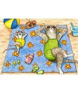 ACEO art print Cat #353 mouse fantasy by L.Dumas - $4.99
